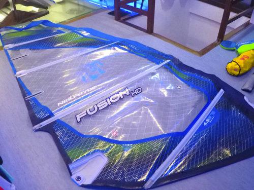 Vela windsurf neilpryde fusion hd 4.9 2012  1