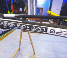 Botavara de windsurf unifiber carbono 160-220 LE 4