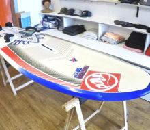 Tabla windsurf RRD Firestorm V2 wood 2014 1